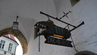 中世風のパブ『スリー・ドラーコン』でエルク(ヘラジカ)スープをいただく@エストニア・タリン