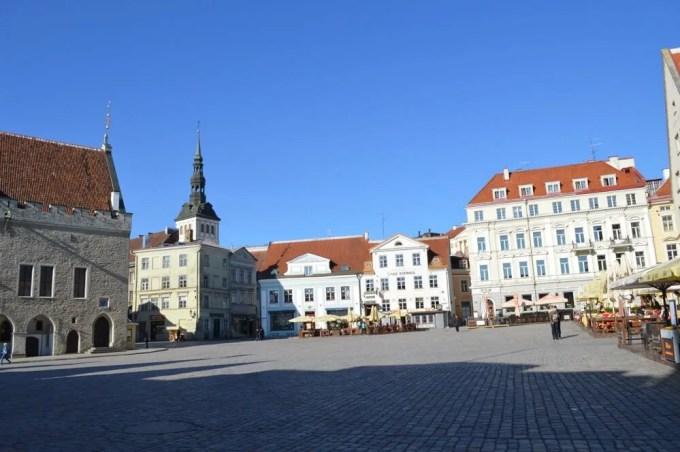 ラエコヤ広場:タリン旧市街:タリン街歩き午前(バルト三国④:エストニア:タリン)