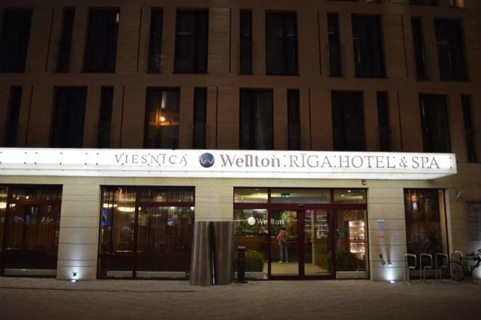 リガ:Wellton Riga Hotel & SPA(バルト三国⑥:タリン〜リガ)