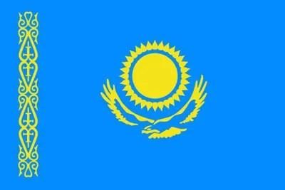 カザフスタン国旗【キルギス旅②】