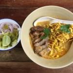 ニマンヘミンにある『カオソーイ・ニマン』は、辛さ控えめで食べやすい!@タイ・チェンマイ