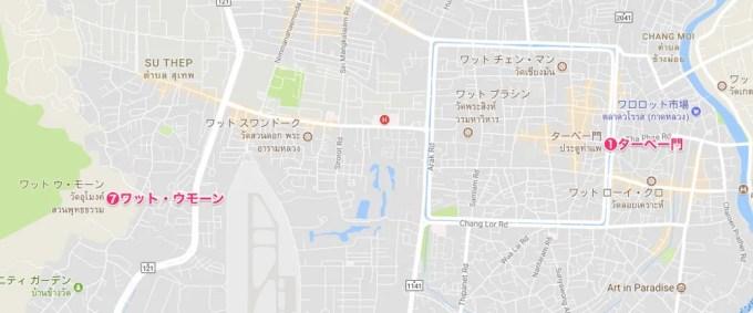 寺院巡り2【タイ・チェンマイ②】