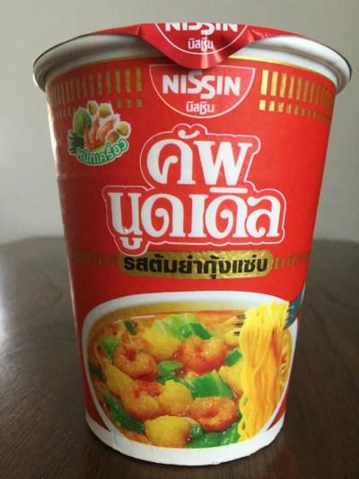 タイのカップヌードル