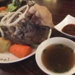 『ウランバートル』★マトンが旨いモンゴル料理!骨付き塩茹で肉をかぶり付く@両国