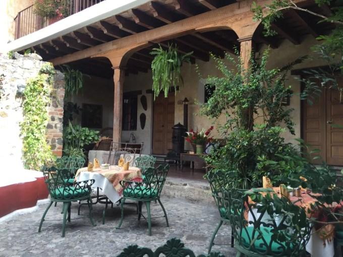 Hotel Mesón de María【グアテマラ⑦:アンティグア1】