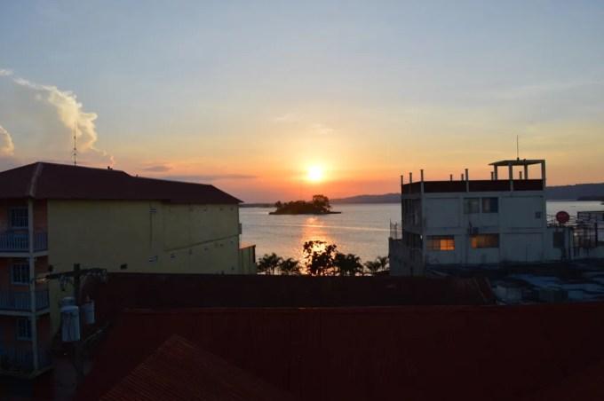 Hotel Isla de Flores【グアテマラ⑧:フローレス】