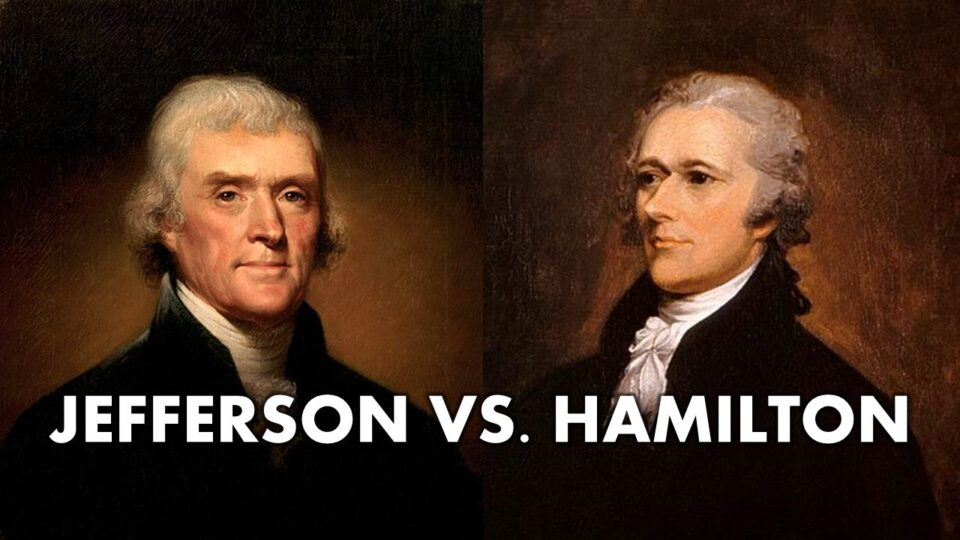 Thomas Jefferson vs Alexander Hamilton (AP US History - APUSH Review) - YouTube