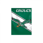 Philadelphia Eagles Retro Logo Vertical Flag