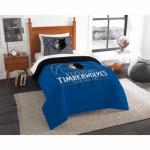 NBA Minnesota Timberwolves Reverse Slam Bedding Comforter Set