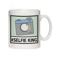 #Selfie Message Mug
