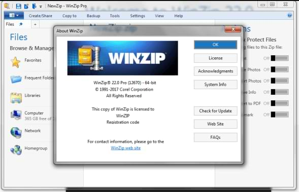 WinZip Pro Crack 25.0.14273 Free Activation Code [Latest 2021]