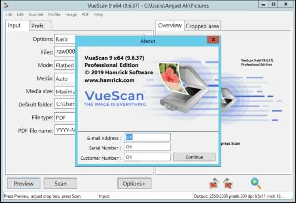 VueScan 9.7.40 Pro Crack With Keygen Free Download [Latest 2021]