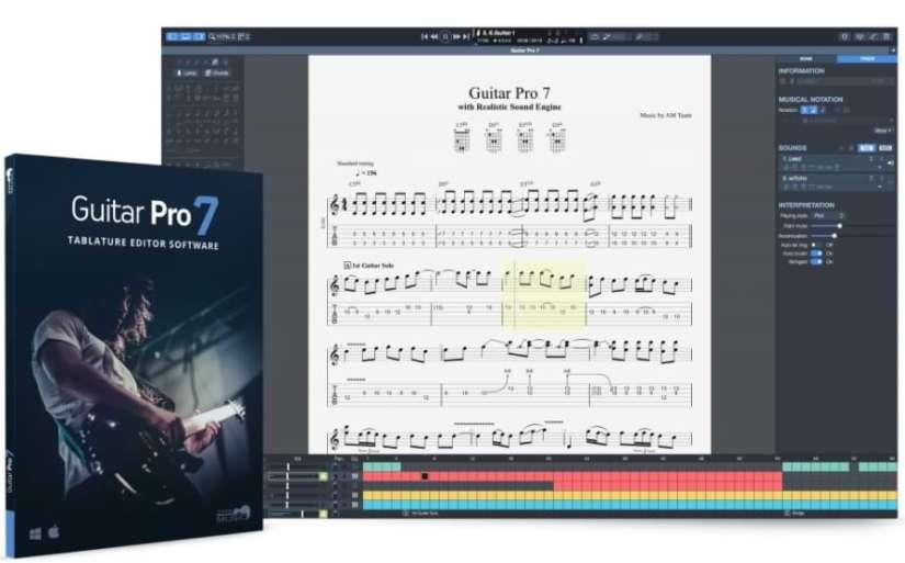 Guitar Pro Crack 7.5 Multitrack Musical Editor Free Download [2021]