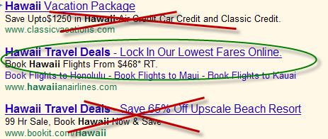 AdWords Ad Optimization