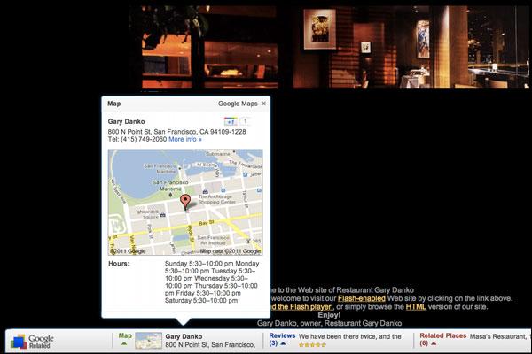 google-related-restaurant