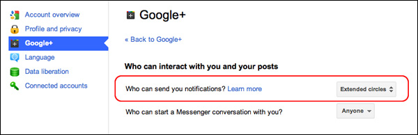 google-plus-notification-setting