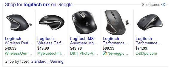 PLAs Logitech MX Example
