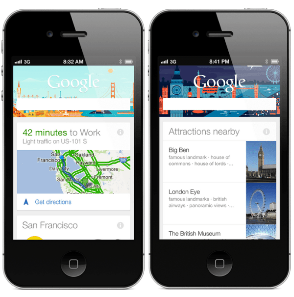 Google Now for iOS Image 2