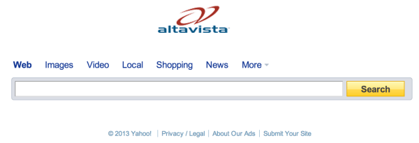 AltaVista 2013