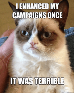 Crescent Interactive enhanced campaigns grumpy cat
