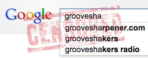grooveshark-google-censored