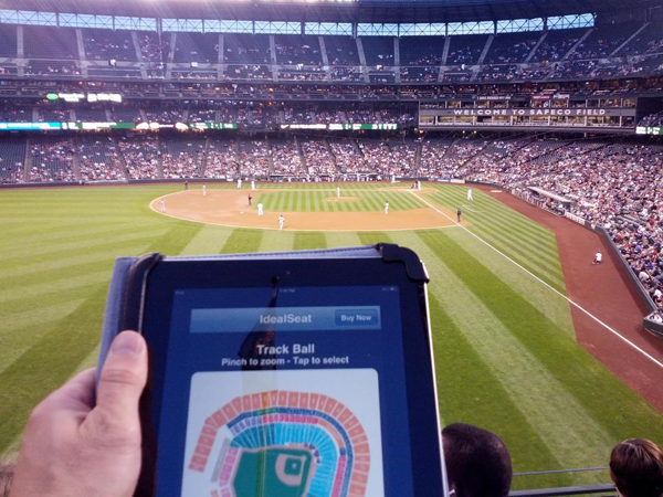 Source: Geekwire, Want to catch more foul balls? IdealSeat shows you where to sit at the ballgame