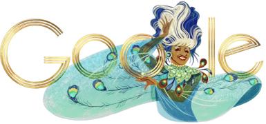 Celia Cruz Google Logo