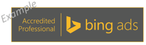 bing ads accredited badge
