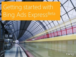 bing ads express launches in beta