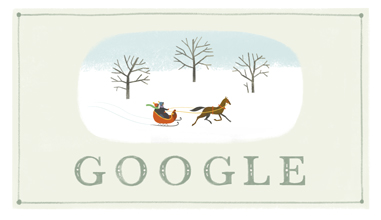 Google Happy Holidays logo 2013