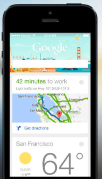 New iOS 7 optimized Google Search app