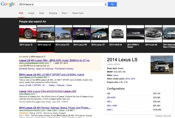 google-knowledge-graph-carousel-cars