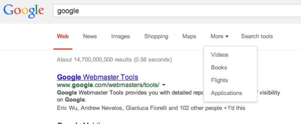 google top menu3