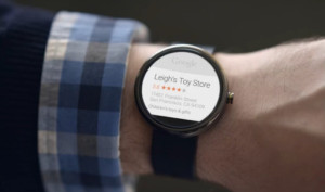 Local Business Listings on Android Wear Smartwatch