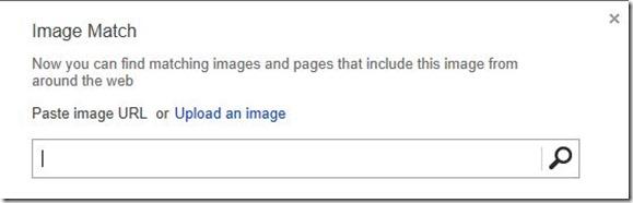 Bing Image search image match