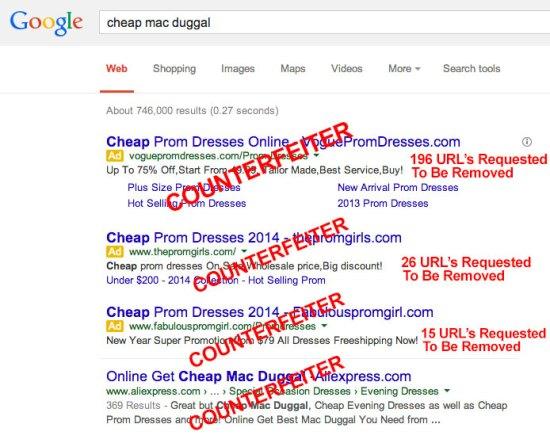 Cheap Mac Duggal Search