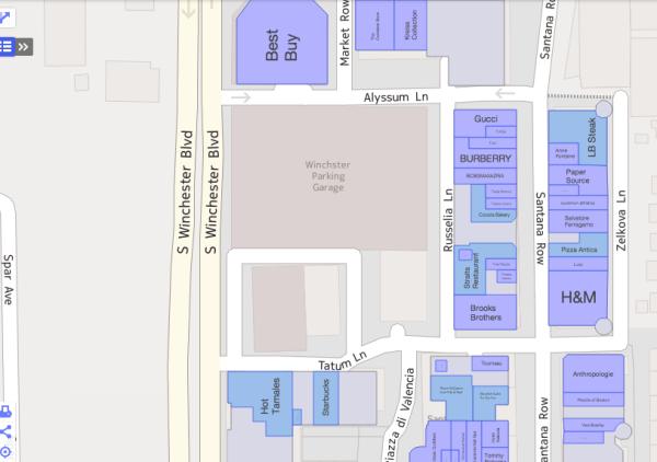 Yahoo indoor maps