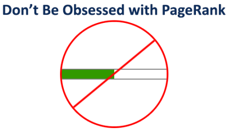Don't Be Obsessed with PageRank