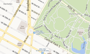 Bing Maps Park Trails and Road before