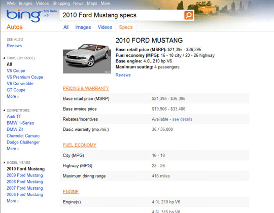 Bing 2009