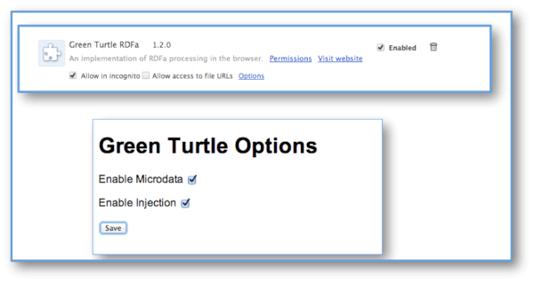 Enabling microdata (as well as RDFa) in Green Turtle