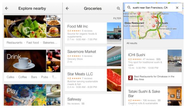 Google Maps upgrades