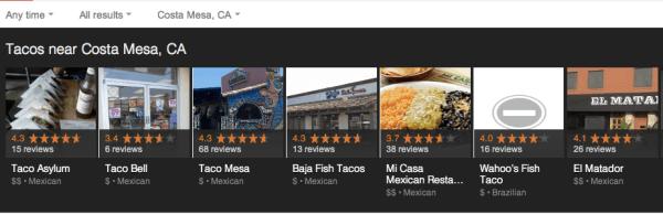 Tacos Costa Mesa Pre Algo Update