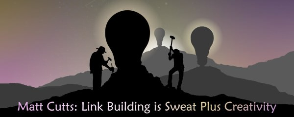 link building sweat and creativity