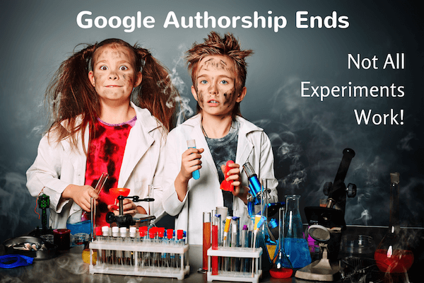 Google Authorship Program Has Been Ended