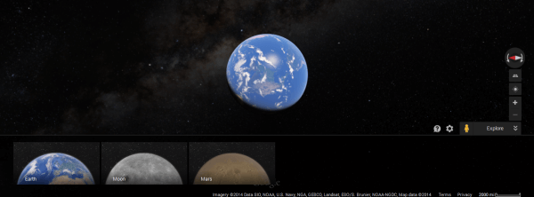Google Maps Mars2