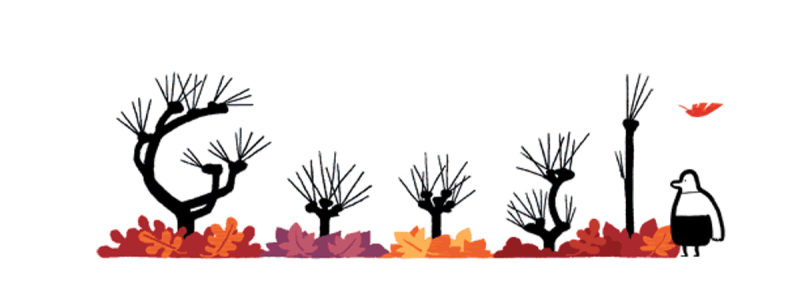 Google logo first day of autumn 2014