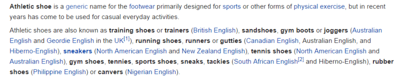 wikipedia-athletic-shoe