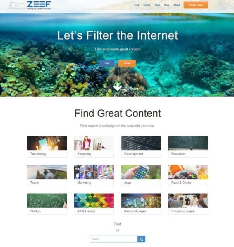 ZEEF.com website