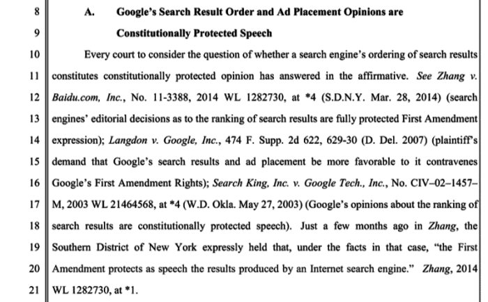 Martin vs. Google
